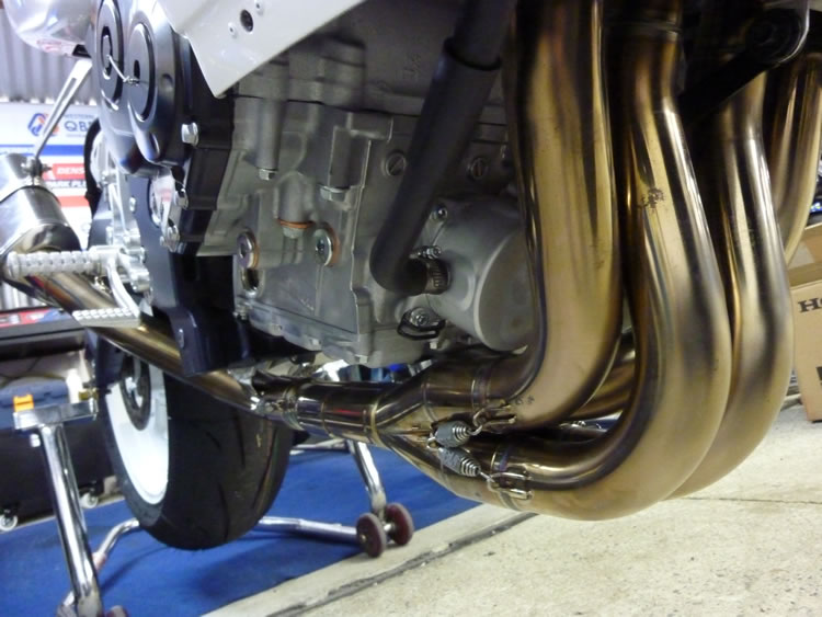 Yoshimura full stainless steel exhaust systems
